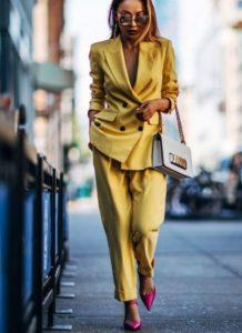 женские модные брюки 2019-2020 тенденции фото