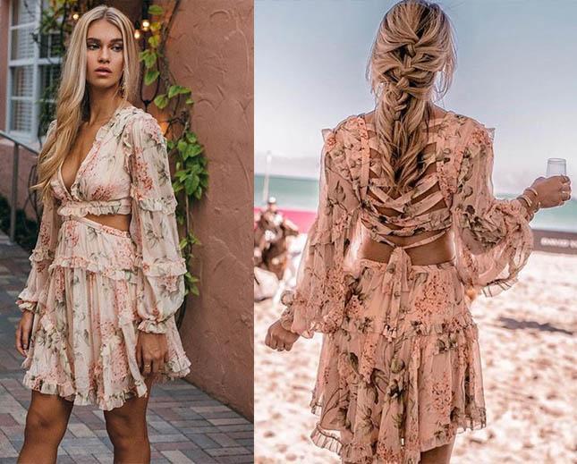 модные платья асимметрия