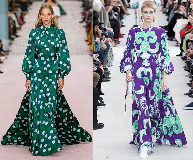 шелковые платья цветочный принт