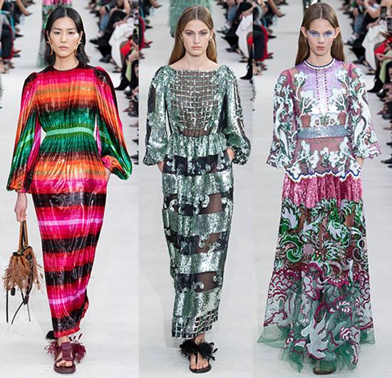 шелковые платья 2019-2020 фото