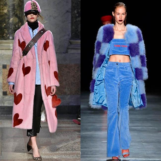 модные тенденции 2019-2020 шубы