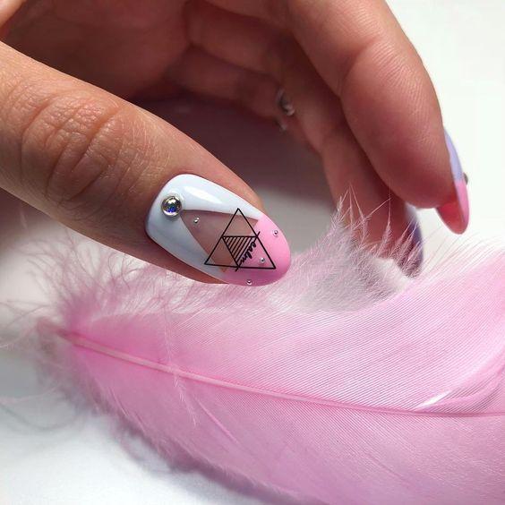 шеллак дизайн ногтей