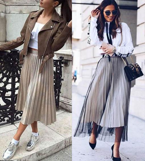 самые модные юбки миди тенденции 2020-2021