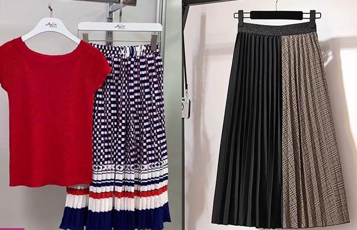стильные юбки плиссе 2020-2021